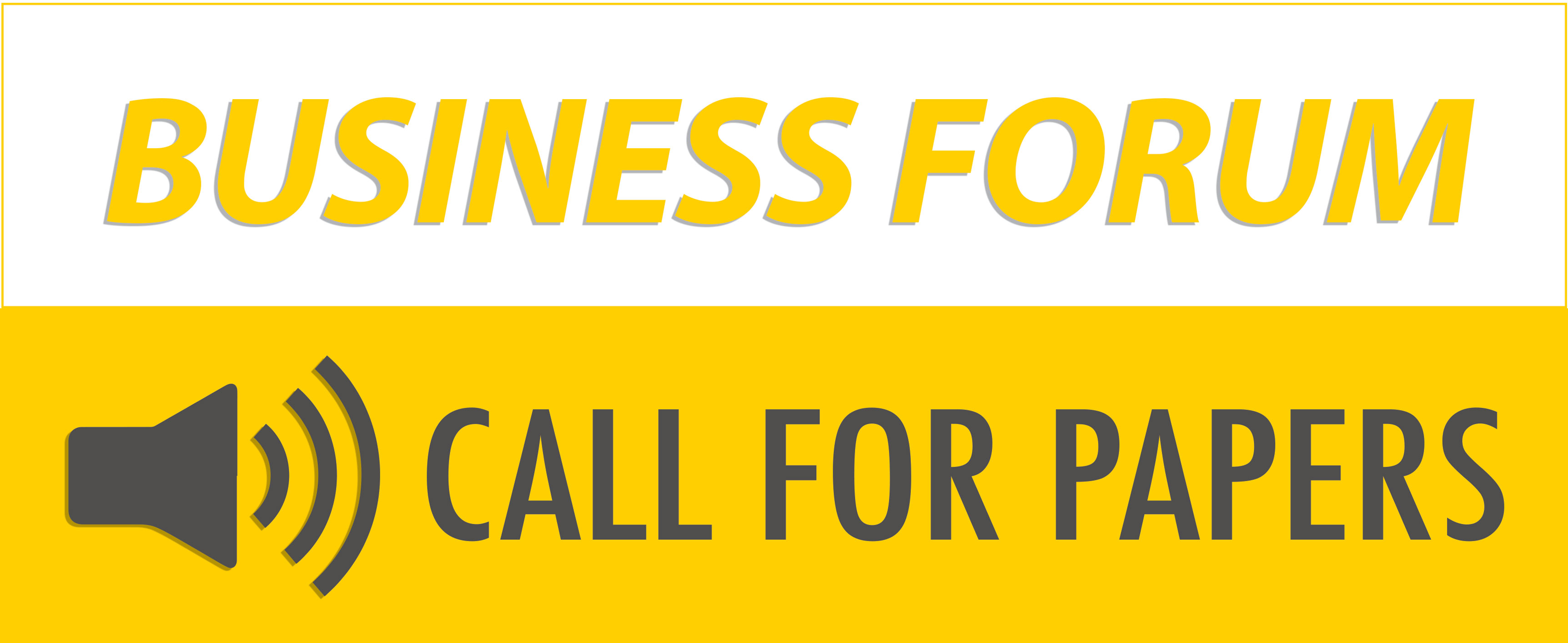 Business Forum Call for Paper