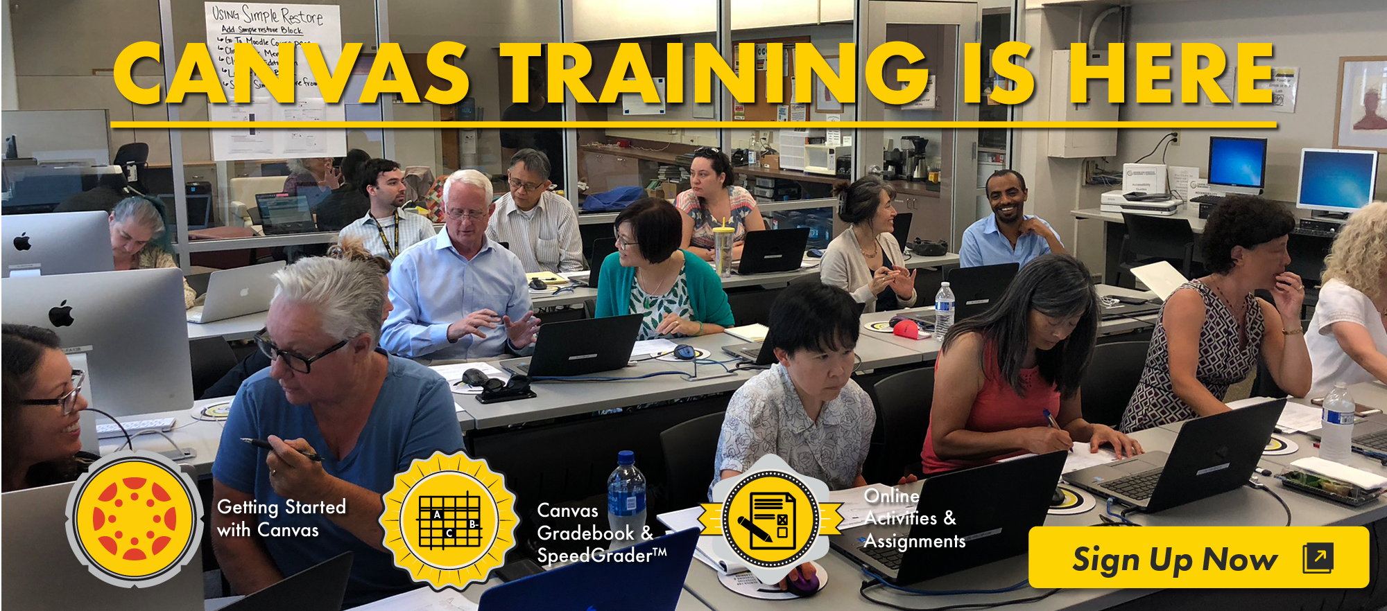 Canvas Training is here.