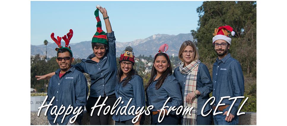 Happy Holidays from CETL