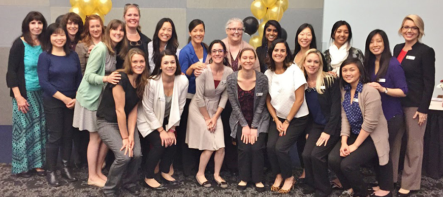 Coordinated Dietetic Program (CDP) Class of 2015 hosts Preceptor Thank You Brunch - School of Kinesiology and Nutritional Scienc