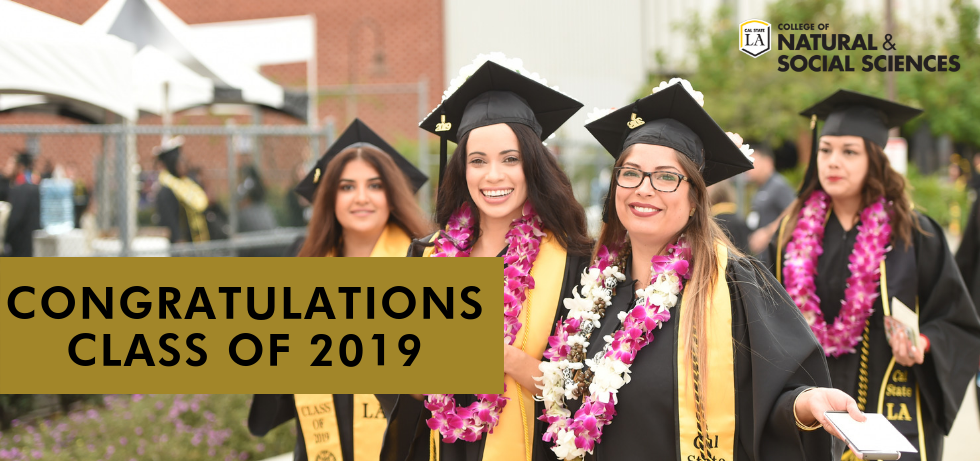 Four graduates from the class of 2019