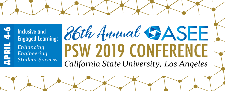 ASEE PSW 2019 Conference banner