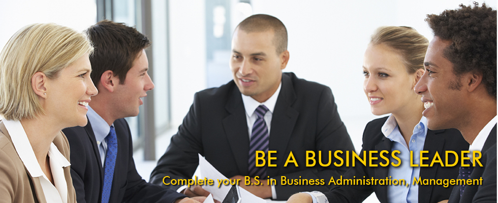 BS Degree in Business Administration, Management