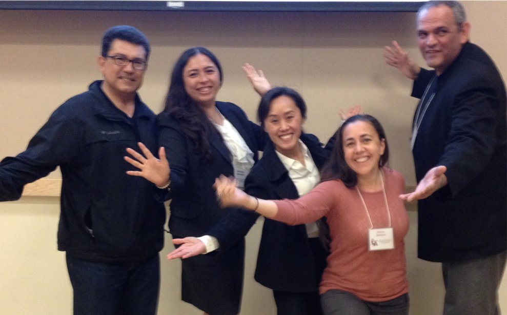 EDFN faculty and students at the 2015 Cal State L.A. campus-wide student research symposium.