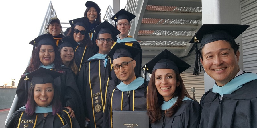 Educational Technology Leadership MA 2017 graduates