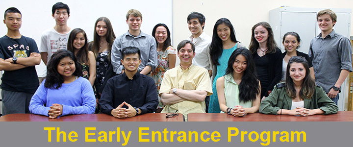 Early Entrance Program Main Class Picture
