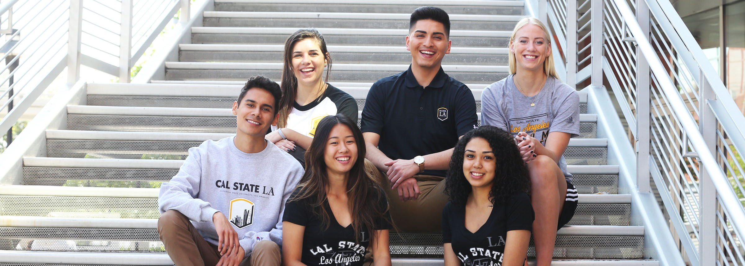 photo of Cal State LA students