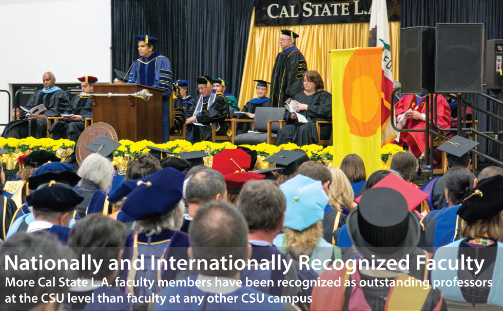 Cal state L.A. faculty recognized as outstanding professors