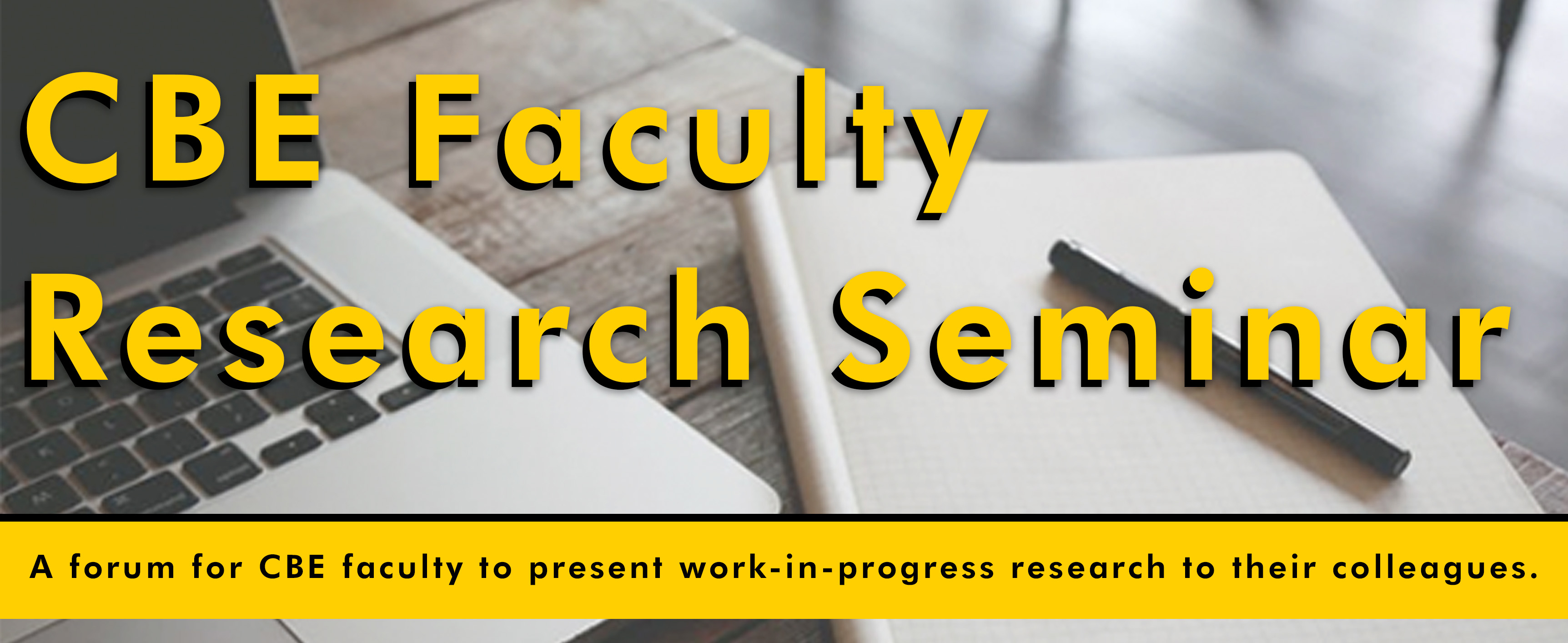 Faculty Research Seminar