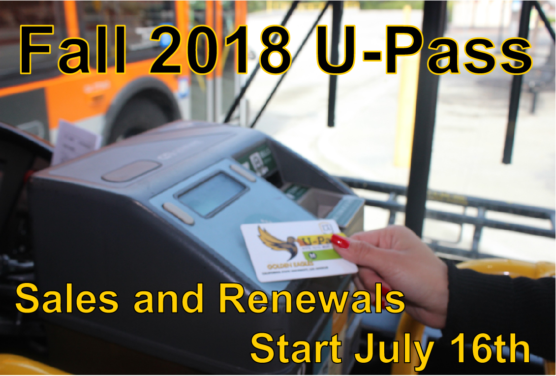 Fall 2018 U-Passes are valid August 20th to January 20th. That's 22 weeks for $125.