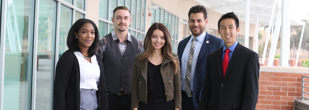 photo of Cal State LA business students