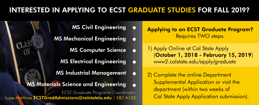 College Of Engineering Computer Science And Technology Cal State La