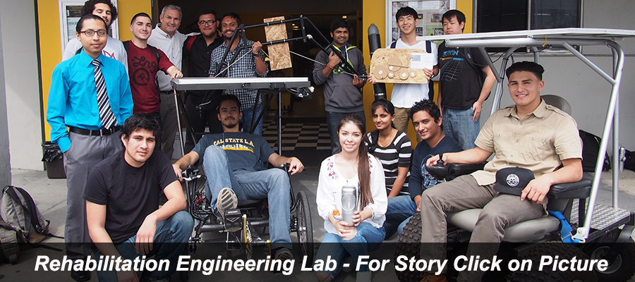 Rehab Engineering Lab - Students with Solar & Body-Powered Trike, Adapted Rowing Pontoon, Gear Kinematic Display and Beach Cruis
