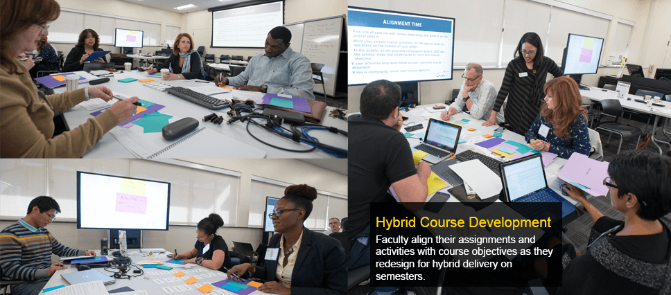 Hybrid Course Development Program