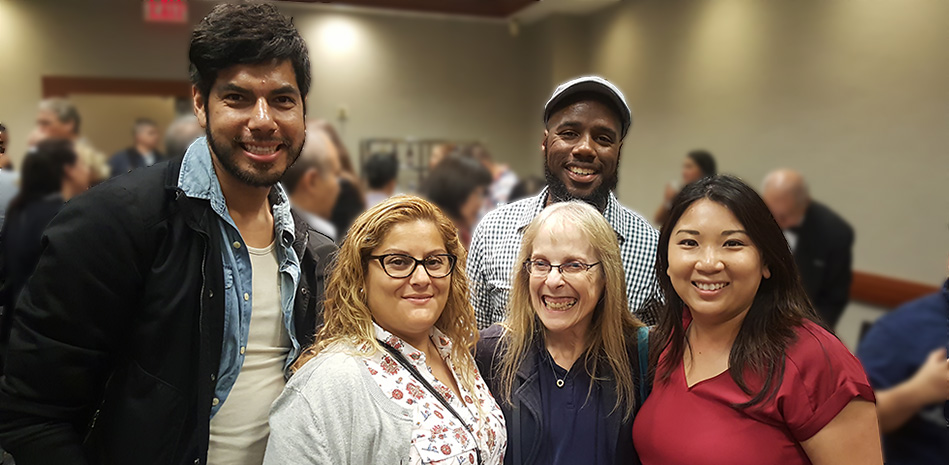 Ed.D. students attending AERA Conference