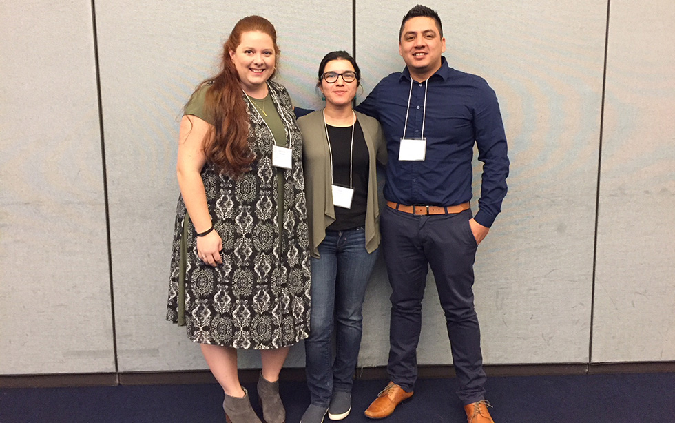 M.A. students  presented findings from their thesis research at the 2018 ORSCA Student Research Symposium.