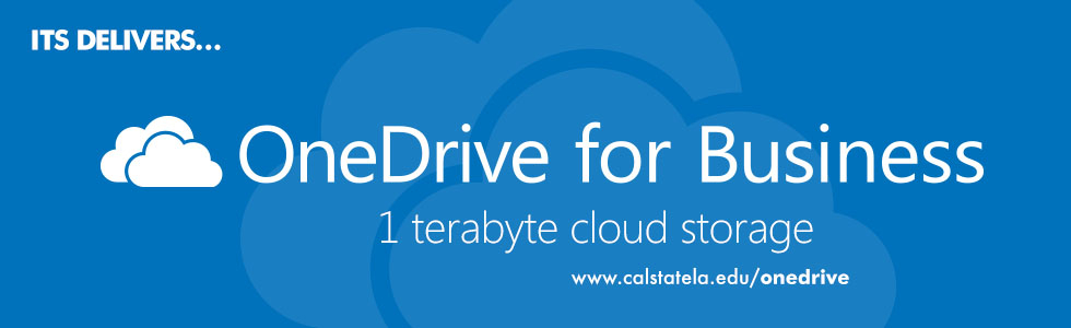OneDrive for Business. 1 terabyte cloud storage.