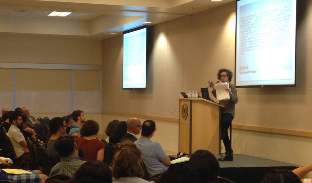 Lauren Berlant delivers 2014 Kubal Memorial Lecture