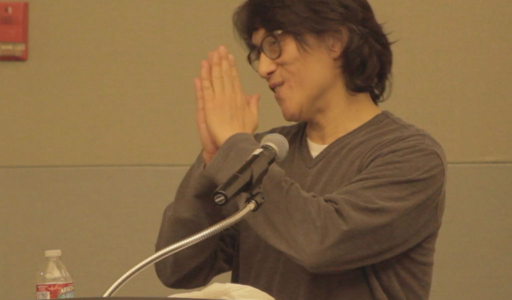 Li-Young Lee at the 2014 Jean Burden Poetry Series reading