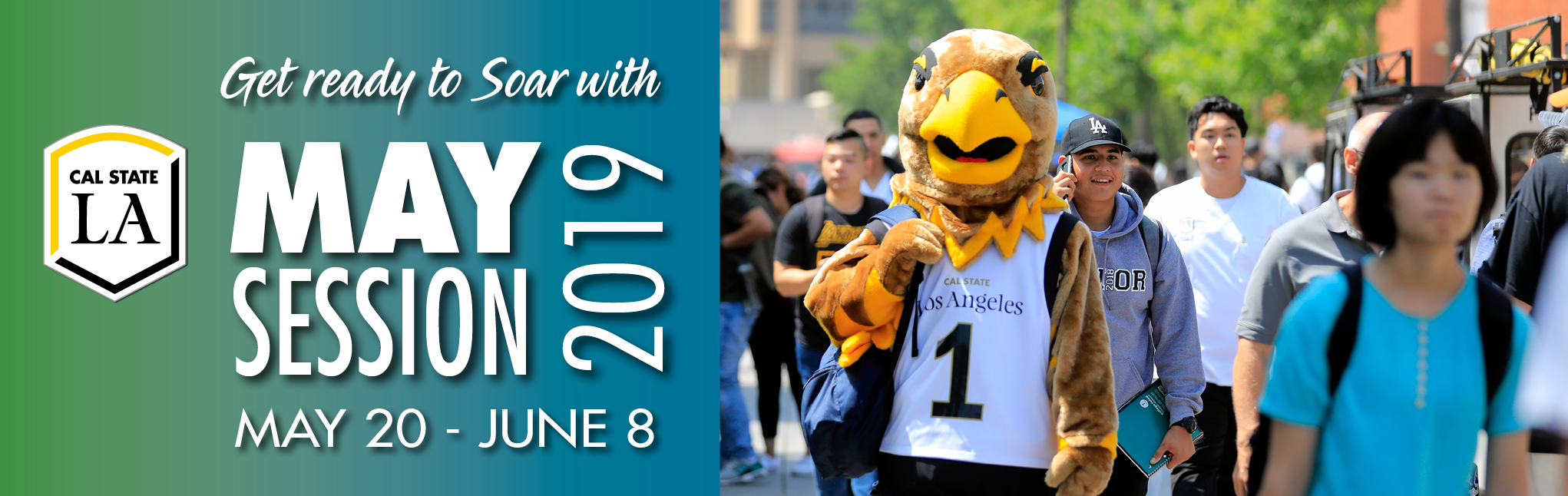 Get ready to Soar with May Session 2019. May 20-June 8