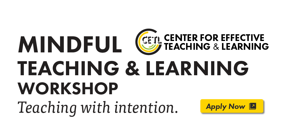 Mindful Teaching and Learning Workshop