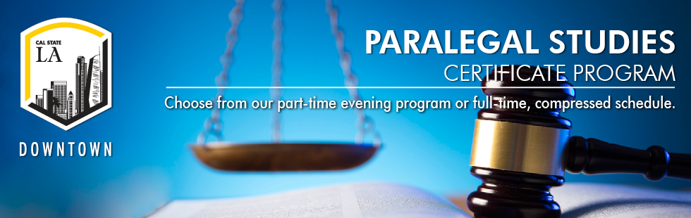 Paralegal Studies Program in Downtown LA