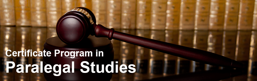 Certificate Program in Paralegal Studies