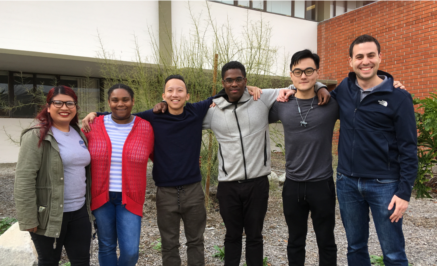 Dr. Nerenberg's 2018-2019 Research Group