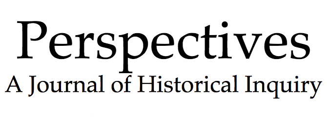 Perspectives: A Journal of Historical Inquiry
