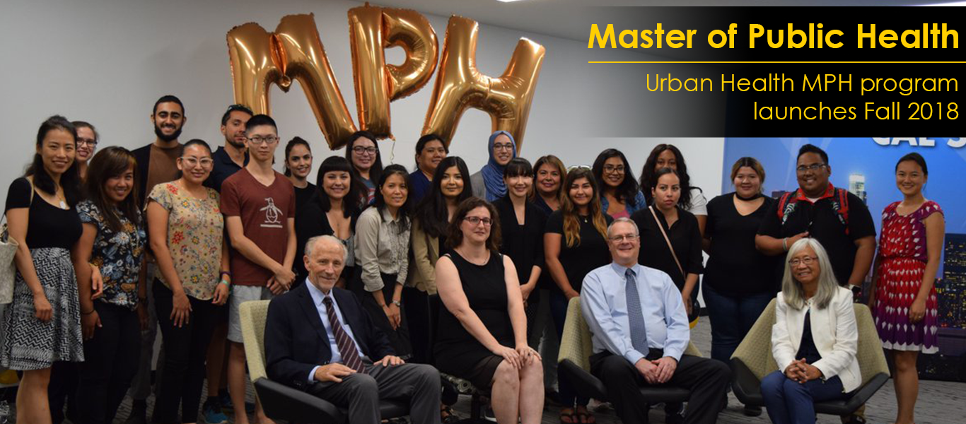 Department of Public Health launches its new master's in Urban Health