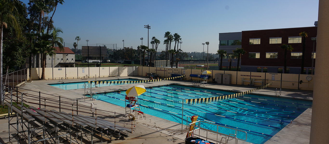 School of kinesiology and nutritional science california state university los angeles for Citywide aquatics division swimming pool slide