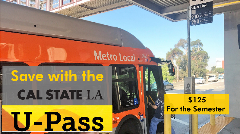 Save with the Cal State LA U-Pass