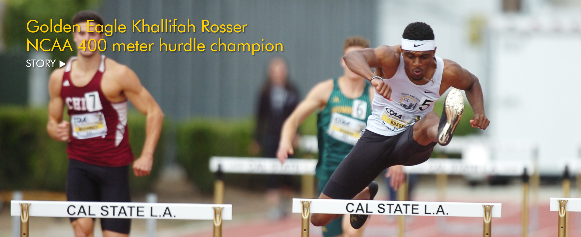 Khallifah Rosser is national champion