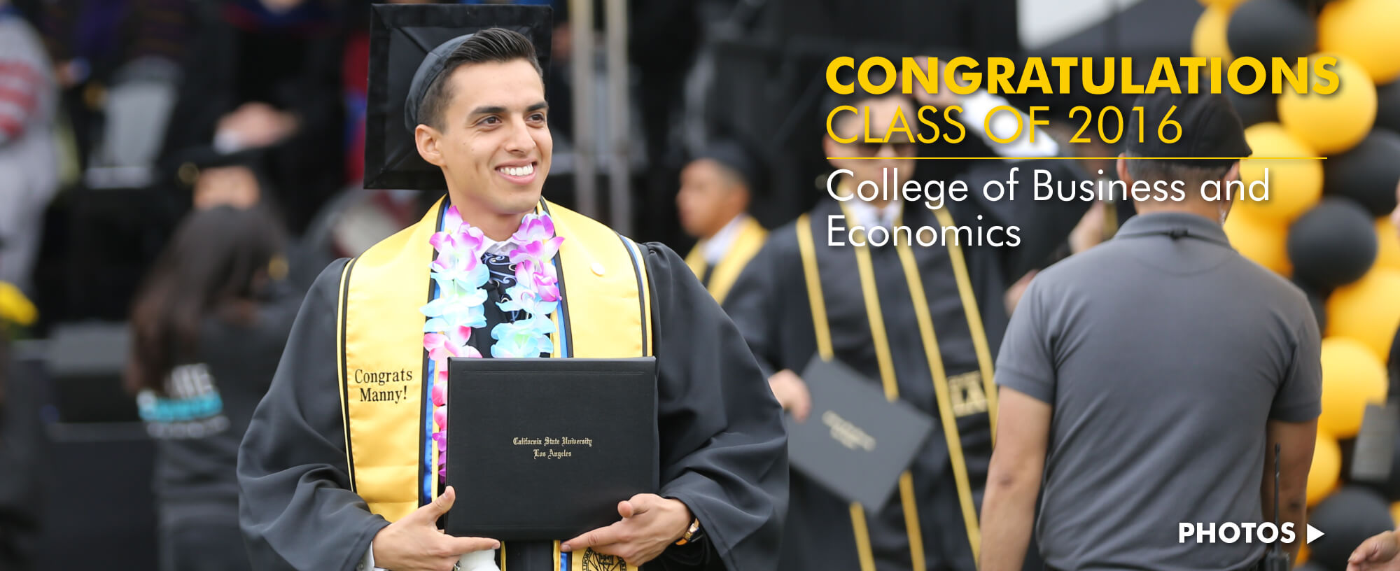 Congratulations Class of 2016: College of Business and Economics