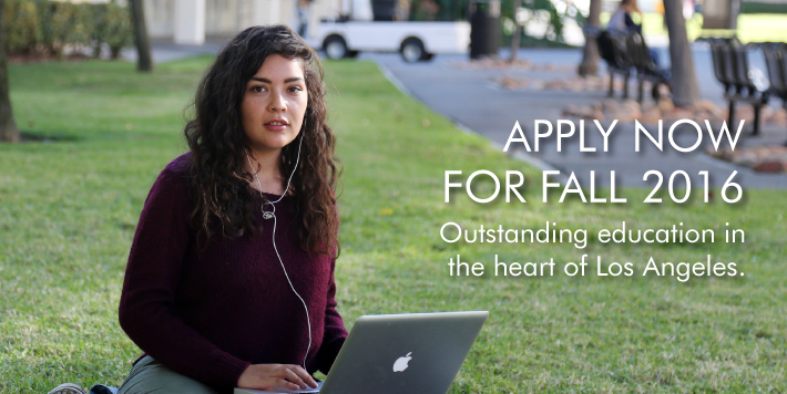 Apply now for Fall 2016
