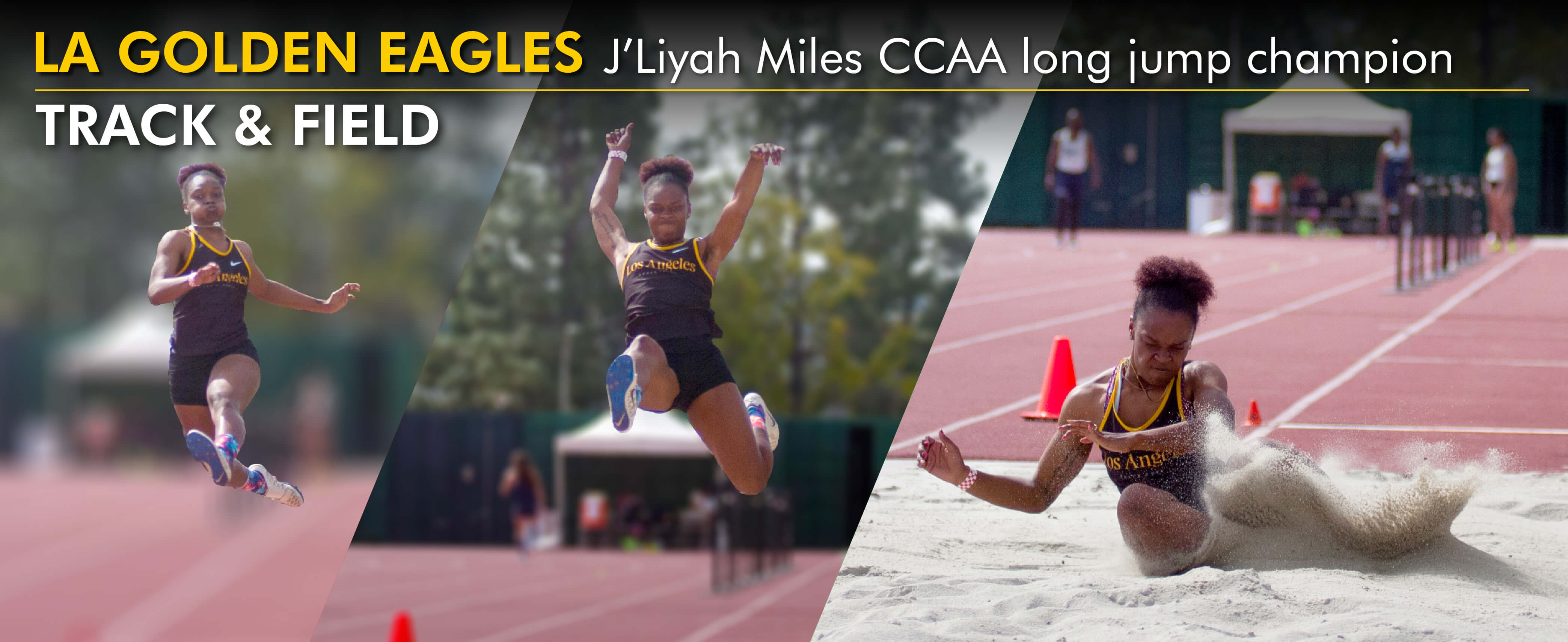 Cal State LA J'Liyah Miles Earns CCAA Athlete Of The Week Honors