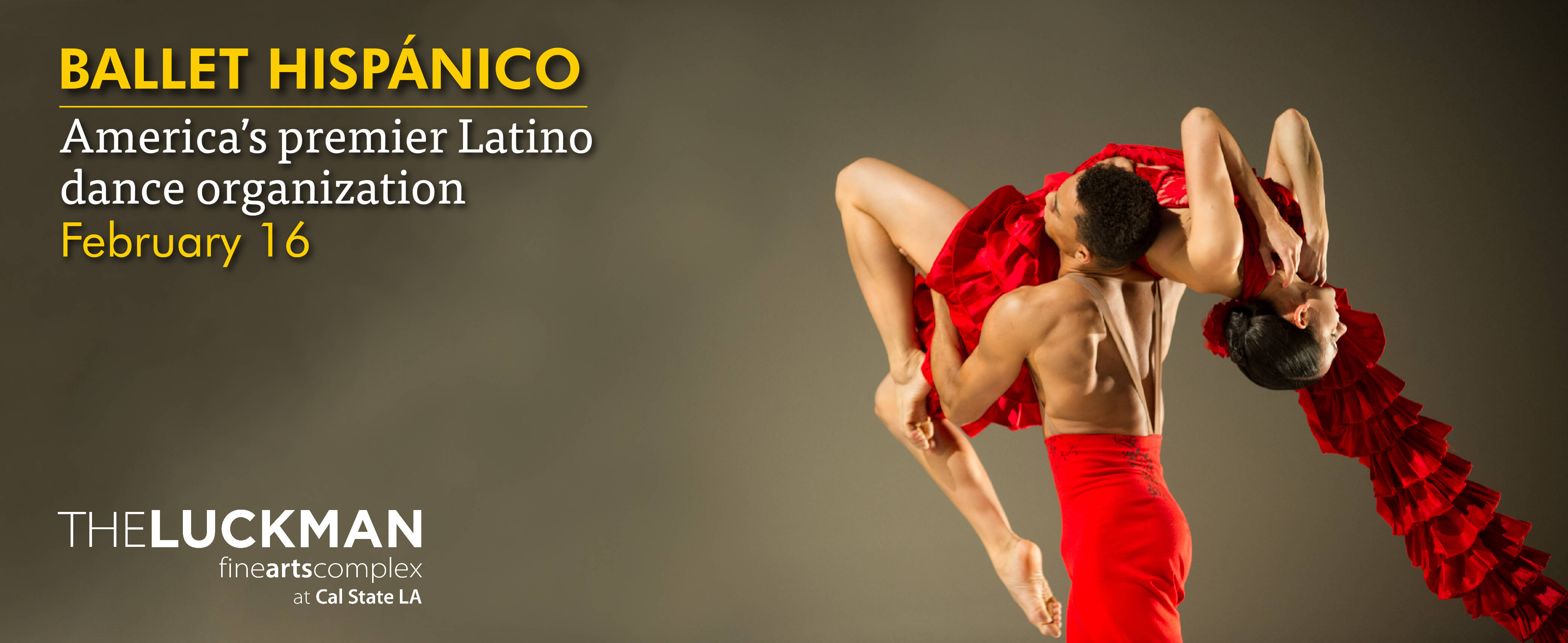 Ballet hispanico Luckman Fine Arts