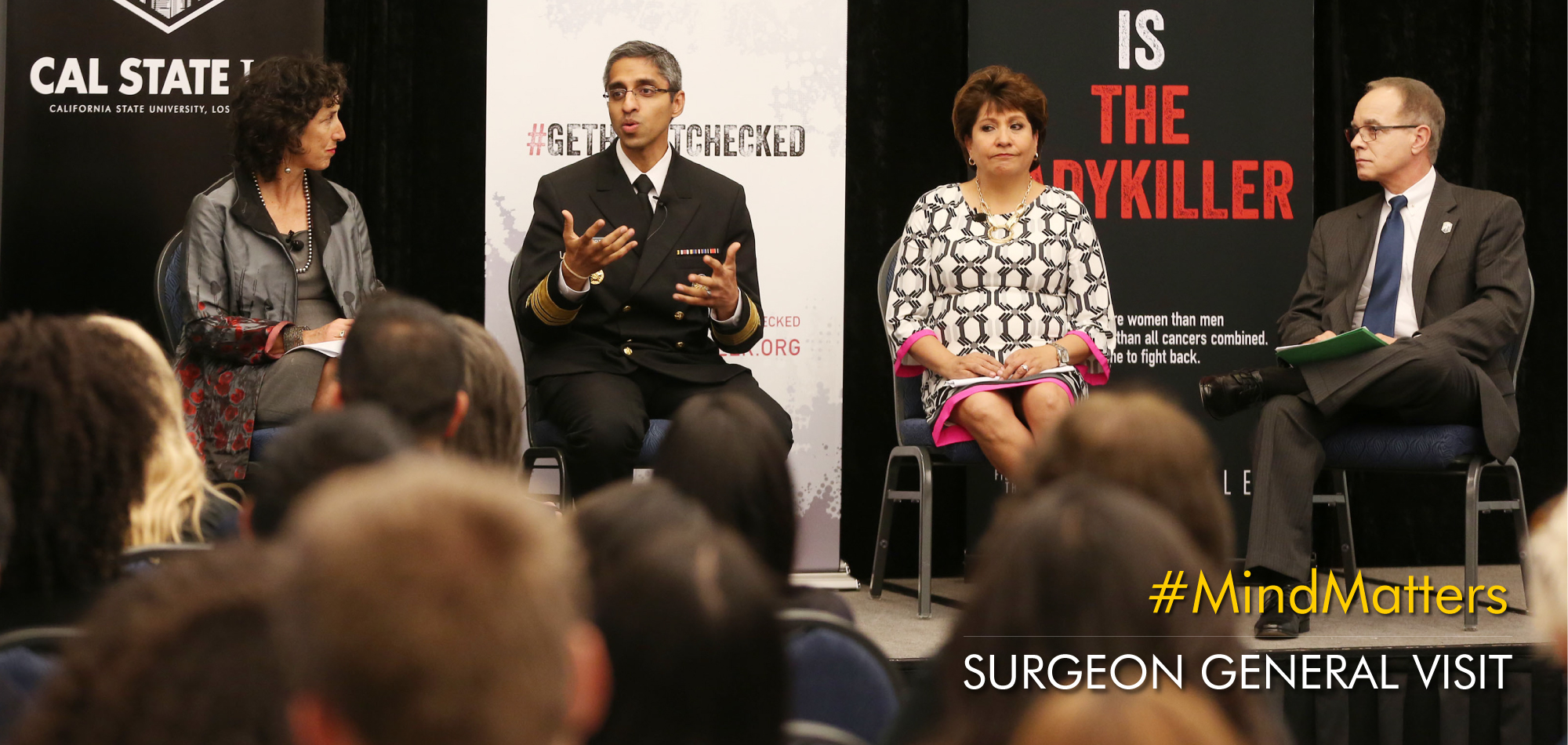 Surgeon General promotes wellbeing with Mind Matters