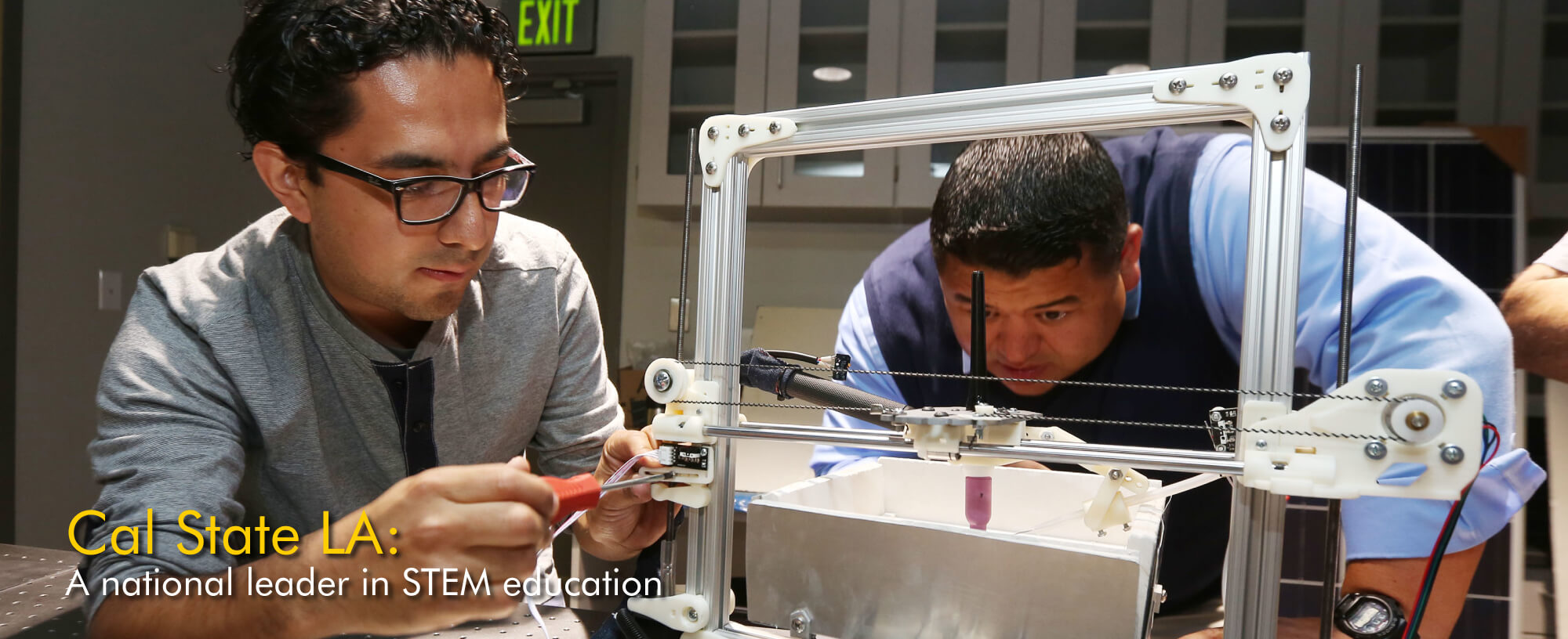 Cal State LA top ranked STEM programs