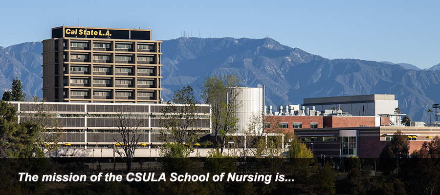 The mission of the CSULA School of Nursing is