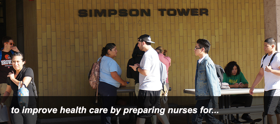 to improve health care by preparing nurses for