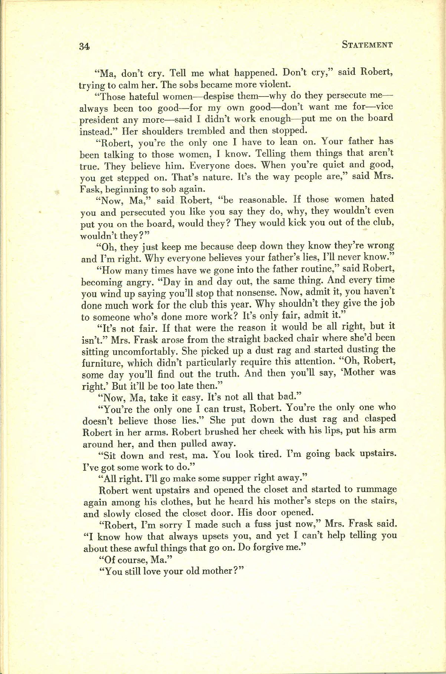 Statement Magazine Fall 1953 Page 32