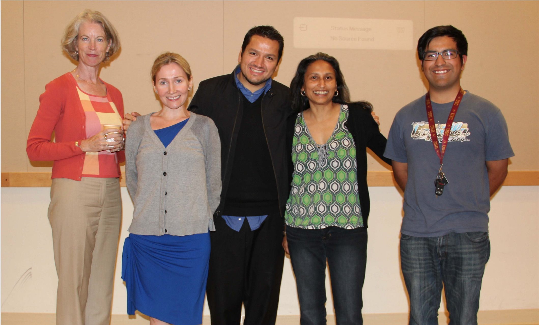 Members of the TESOL Society Student Organization