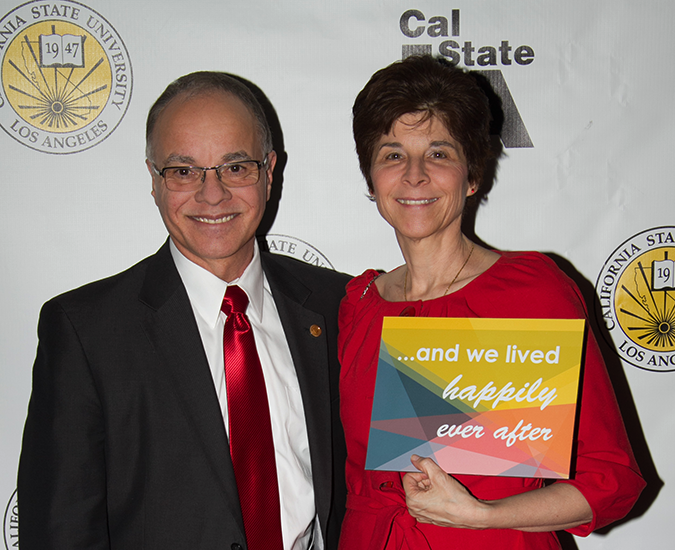 President William A. Covino and Debbie Covino