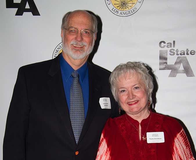 Peter Arvedson ('71) and Paula Arvedson ('82, '84 M.A., '99 Ph.D.)