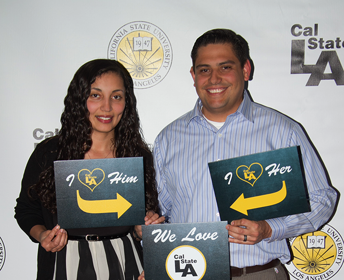 Claudia Pichardo ('08) and Rene Carrillo ('08)
