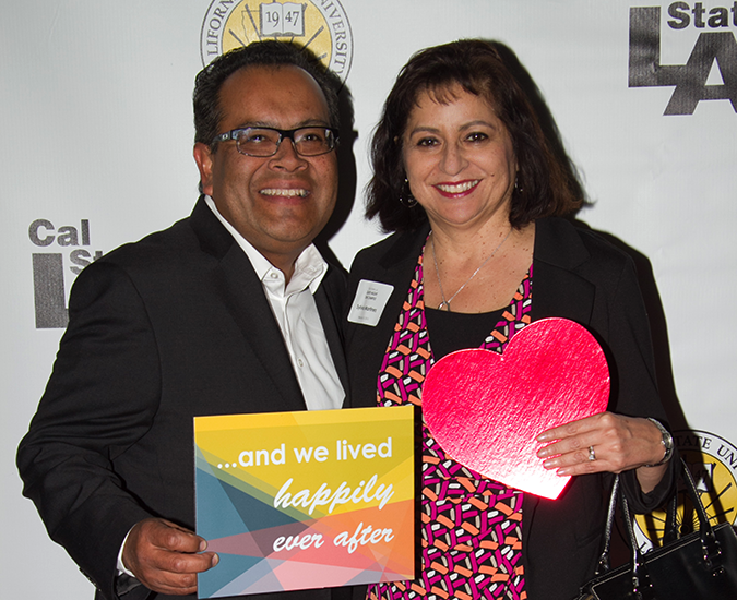 Eddie Martinez ('84) and Sylvia Martinez ('82, '87 M.A.)