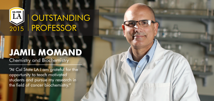 Outstanding Professor Jamil Momand