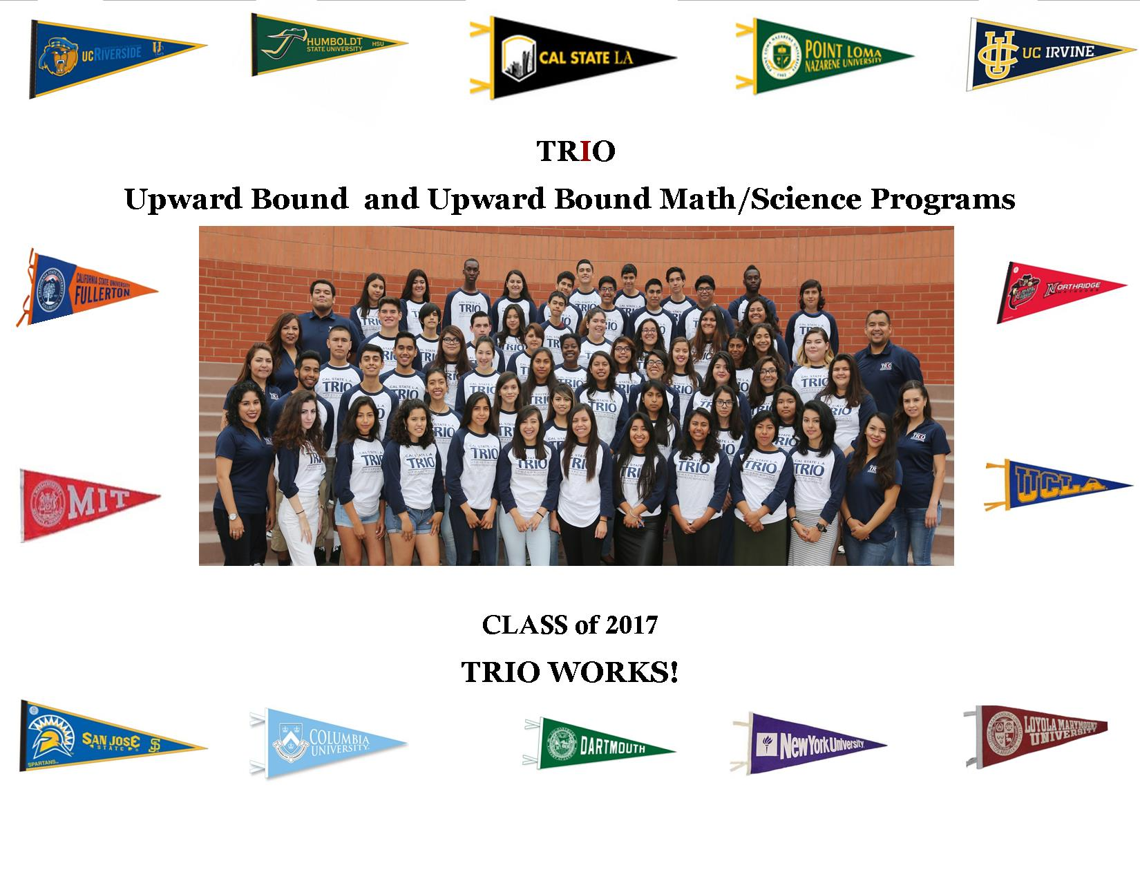 CSULA TRIO WORKS Class of 2017
