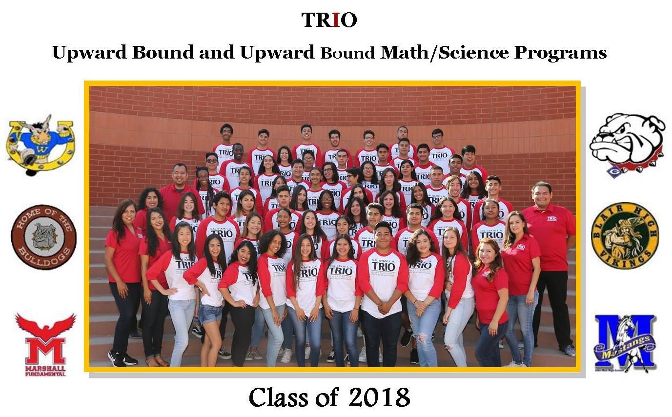 Cal State LA Upward Bound Programs Class 2018